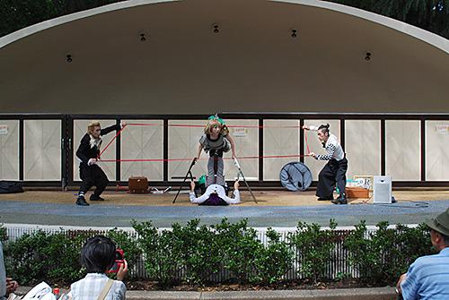 井の頭公園イベント/パントマイム