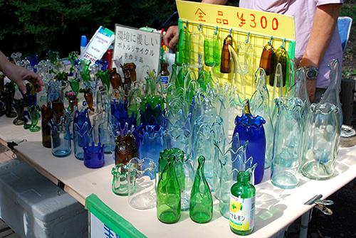 リサイクル・ボトルアート1