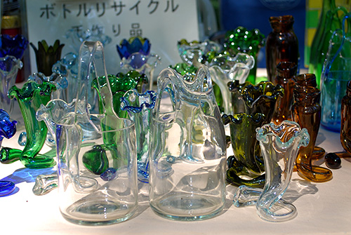 リサイクル・ボトルアート6