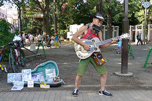 井の頭公園ミュージシャン