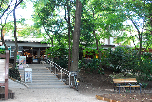 井の頭公園 PEPACAFE FOREST