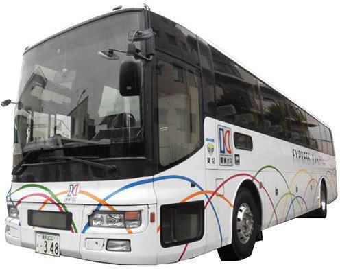 「吉祥寺〜お台場急行バス」で使われる車両(画像:関東バス)