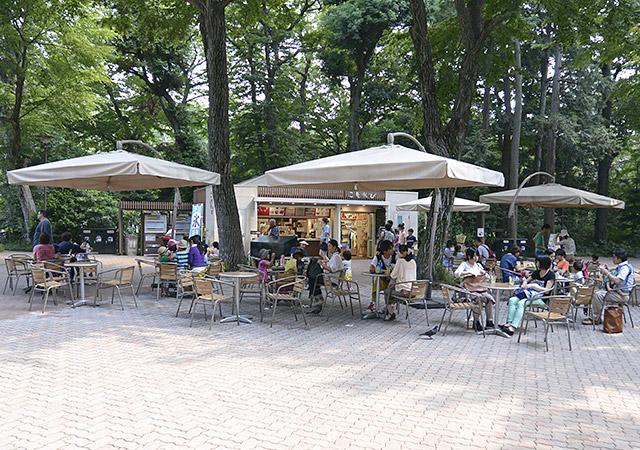 井の頭自然文化園 売店こもれび